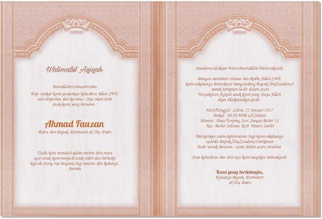 Download Soft File Undangan Pernikahan ERBA 88130 CDR