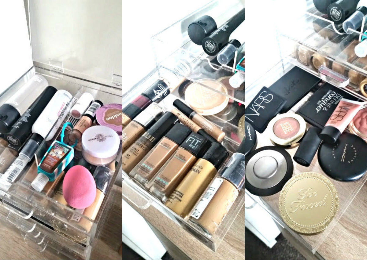 inside my makeup draws