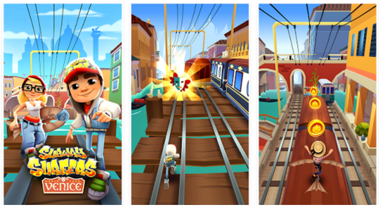 Subway Surfers 1.58.0 For Android Apk