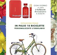 Logo Concorso ''40 anni con L'Erbolario'' : vinci 120 cofanetti Anniversario e 10 biciclette Erbolario