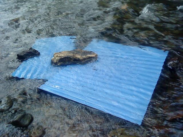 alat kandang ayam direndang di air