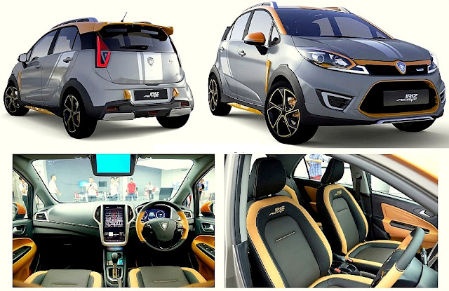 Model Baru Proton SUV - Iriz Active