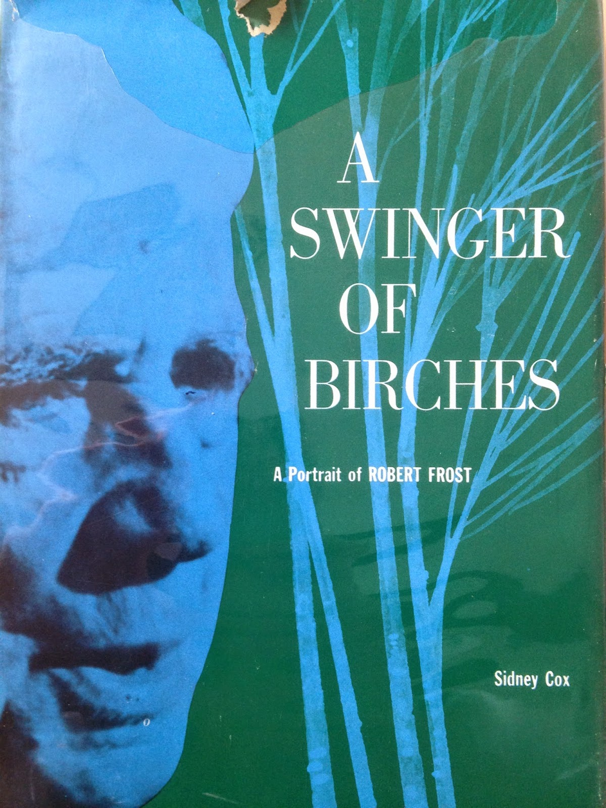 "A cover for Frost's ""A Swinger of Birches."""