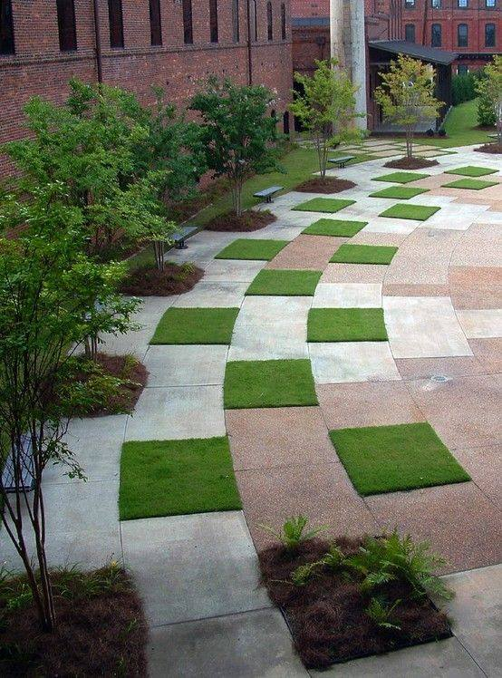 For homes with small or spacious yard you can choose one from modern pathway design to increase the value and ambiance of your homes. & MODERN PATHWAY DESIGNS - Bahay OFW