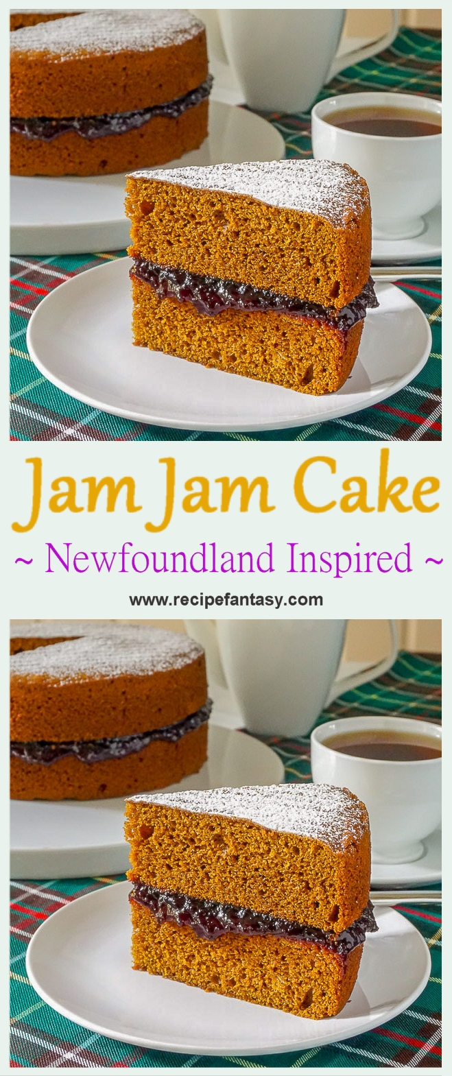 Jam Jam Cake