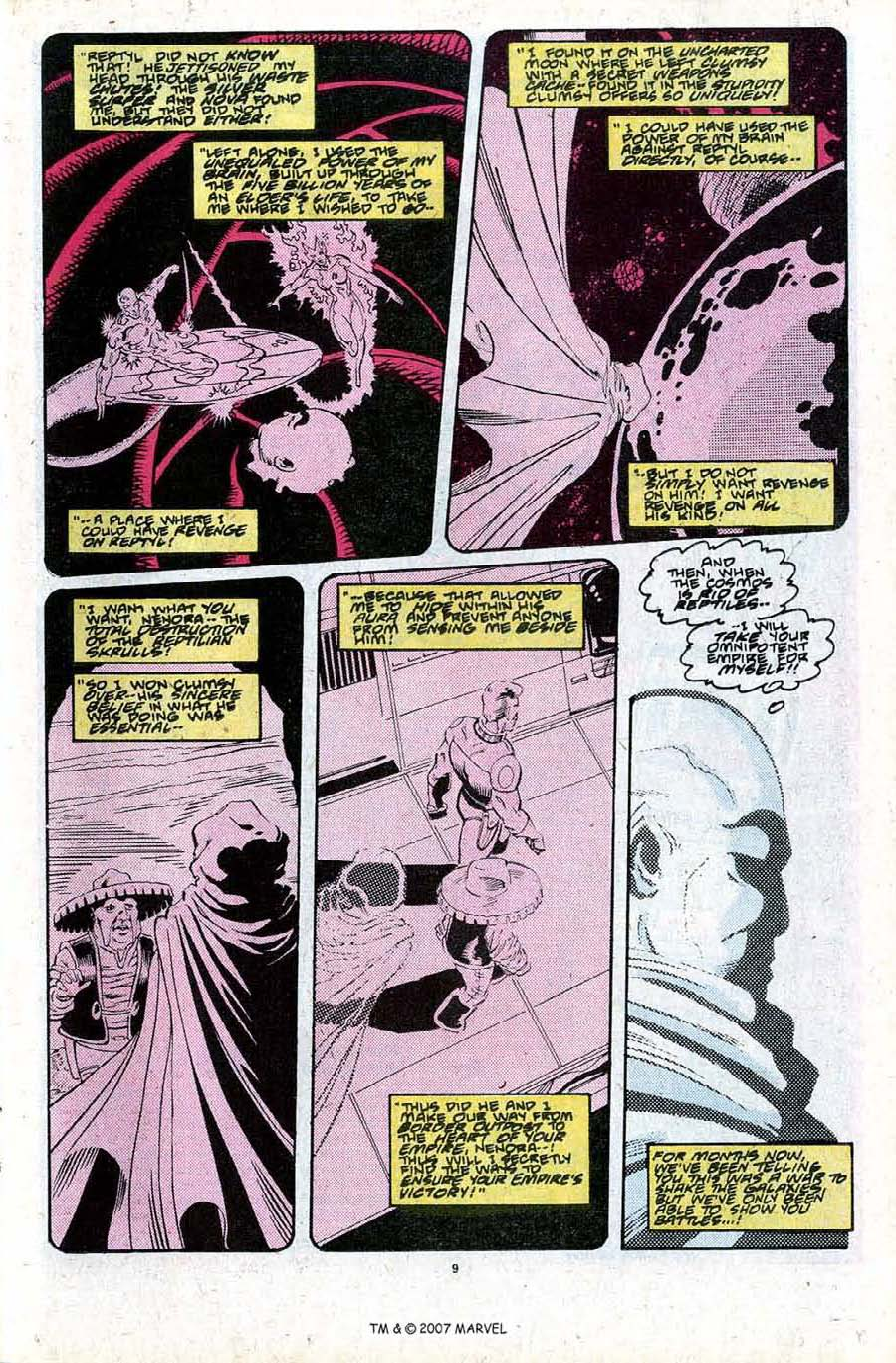 Read online Silver Surfer (1987) comic -  Issue #27 - 11
