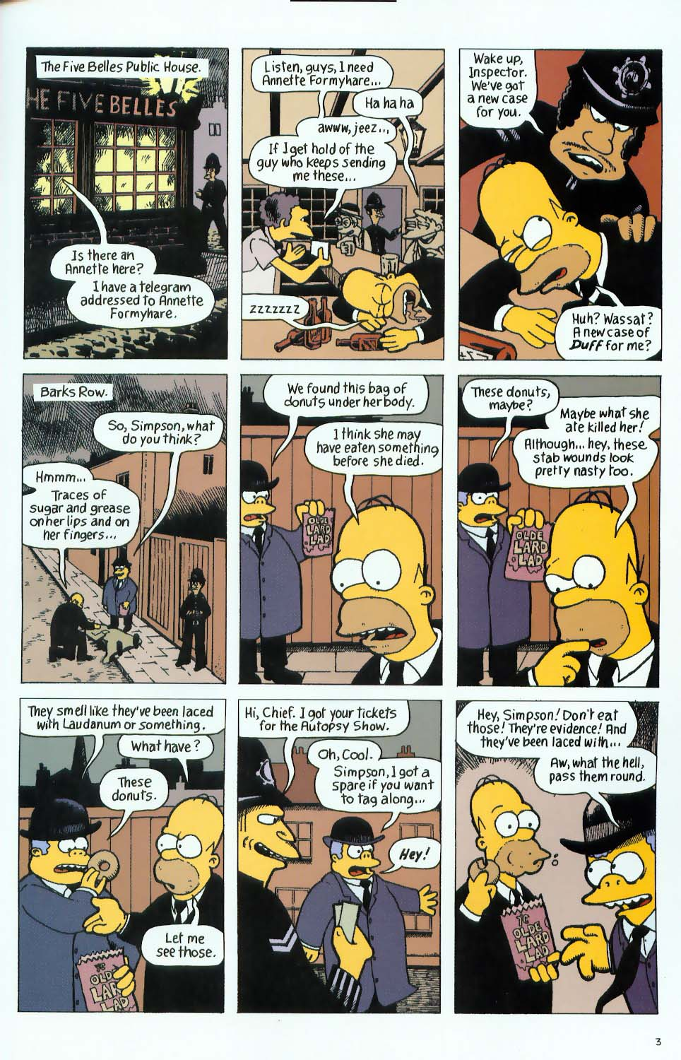 Read online Treehouse of Horror comic -  Issue #9 - 35