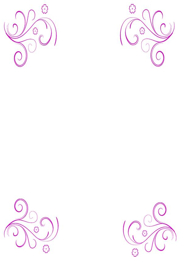 Bordes de pagina de flores imagenes y dibujos para imprimir for Pagina de decoracion