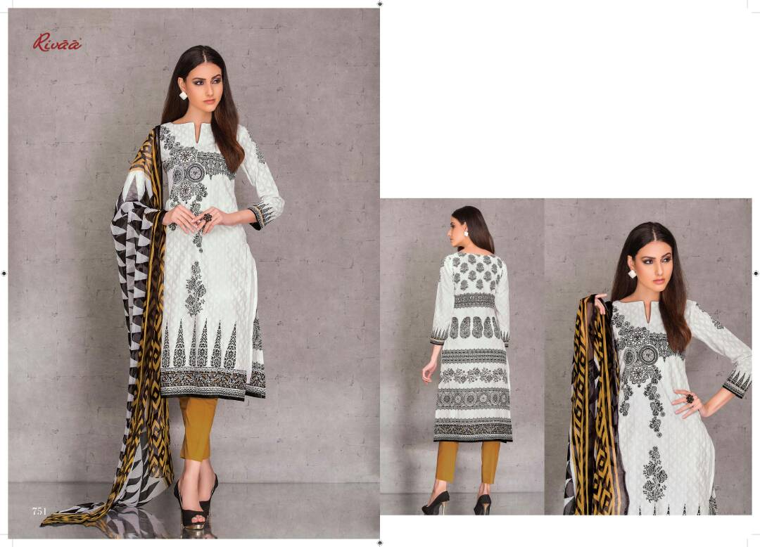 Anika – Pure Cotton Unique And Very Stylish Dress Material
