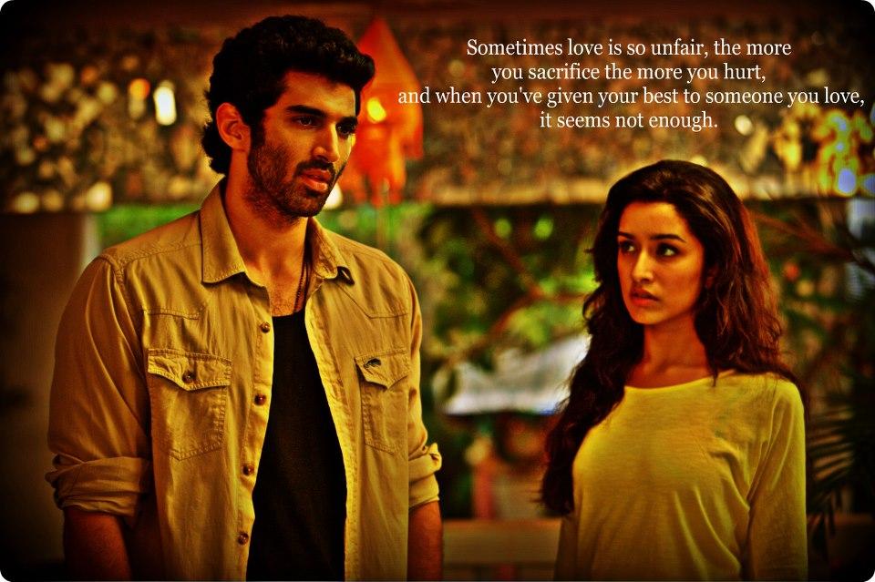 Aashiqui 2 Wallpapers With Love Quotes Aditya Roy Kapoor Aashiqui 2