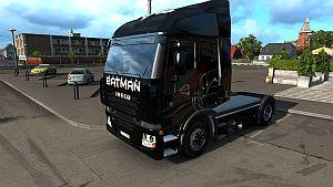 Batman skin for Iveco Stralis