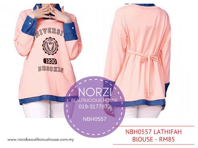 blouse norzi, baju mengandung norzi, koleksi baju mengandung norzi, blouse terkini, trending, ibumanja, norzibeautilicioushouse