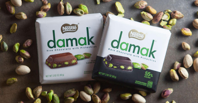 Chocolate with Pistachios