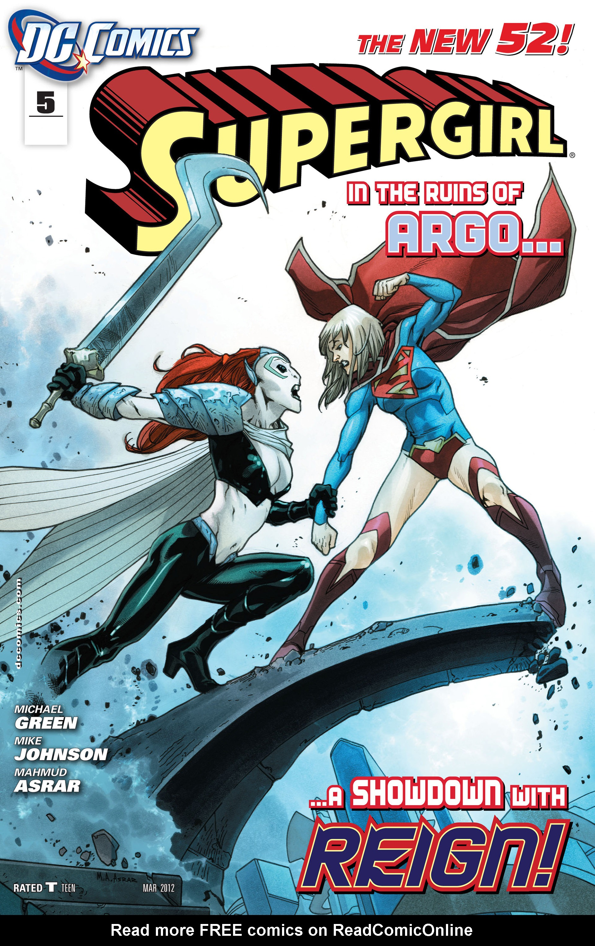 Supergirl (2011) issue 5 - Page 1
