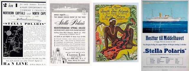 Stella Polaris advertsings of Clipper Line
