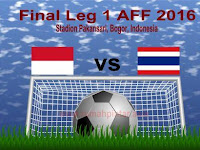 Analisis Laga Indonesia vs Thailand Final Leg 1 AFF 2016