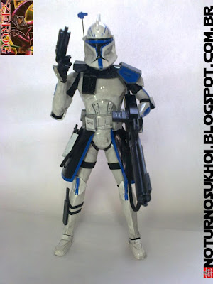 Star Wars Clone Wars Captain Rex Papercraft