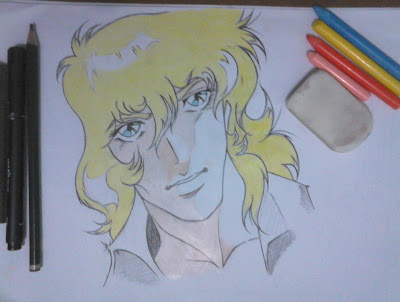 Versailles no Bara desenho mangá final