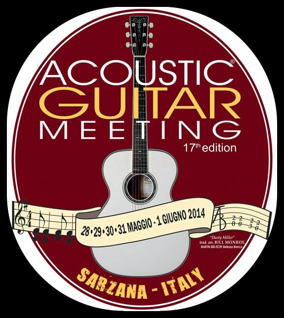 Acoustig guitar Meeting Sarzana logo