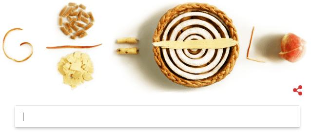 Peringatan hari Pi ke-30 oleh Google Doodle