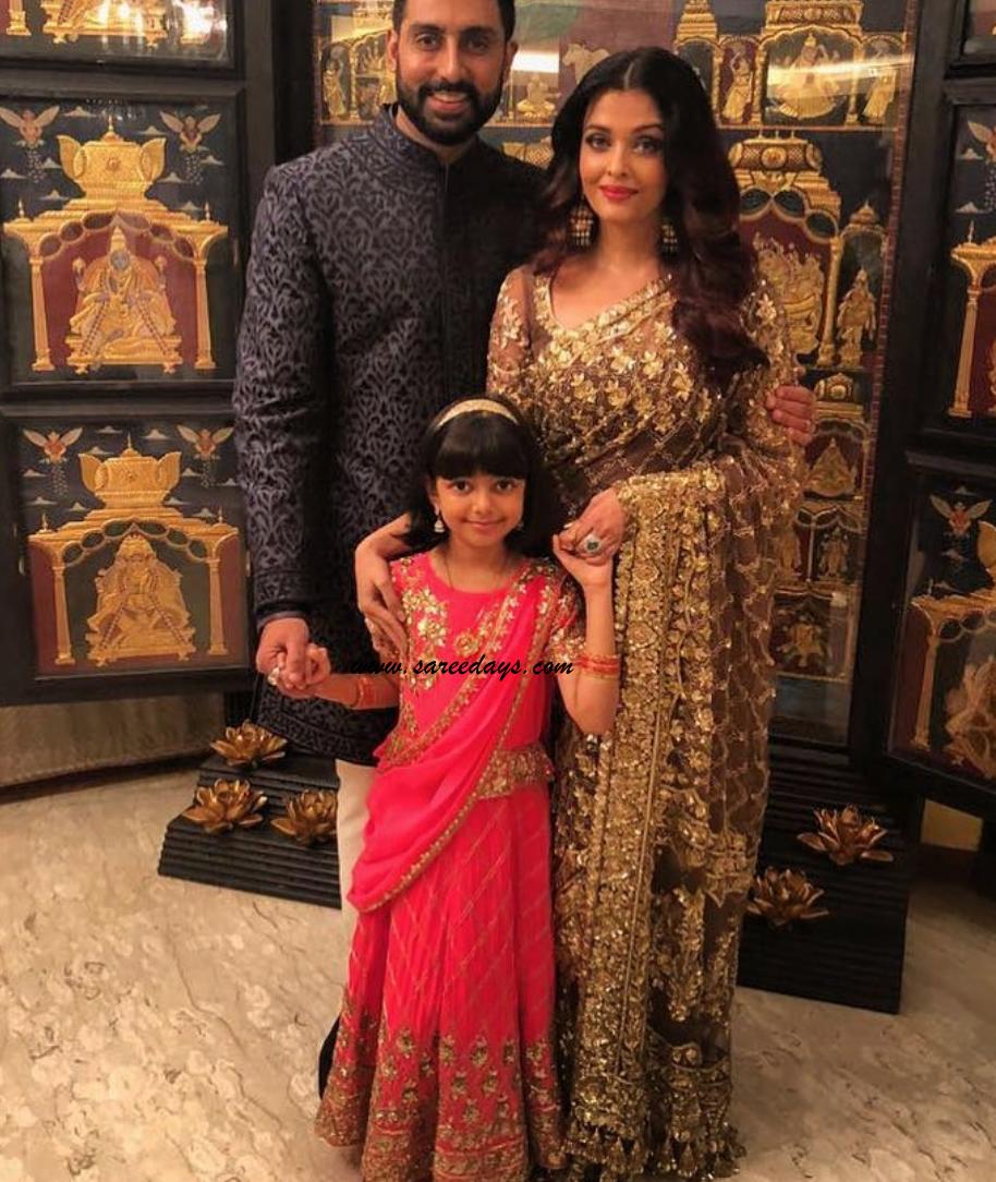 Latest saree designs aishwarya rai in gold designer saree aishwarya rai in gold designer saree altavistaventures Images