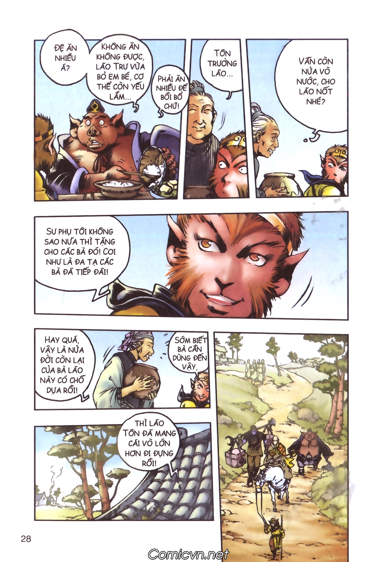 Tây Du Ký màu - Chapter 96 - Pic 26