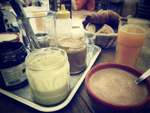 desayuno Au bon pain
