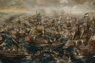 Batalla de Lepanto de Andries van Eertvelt