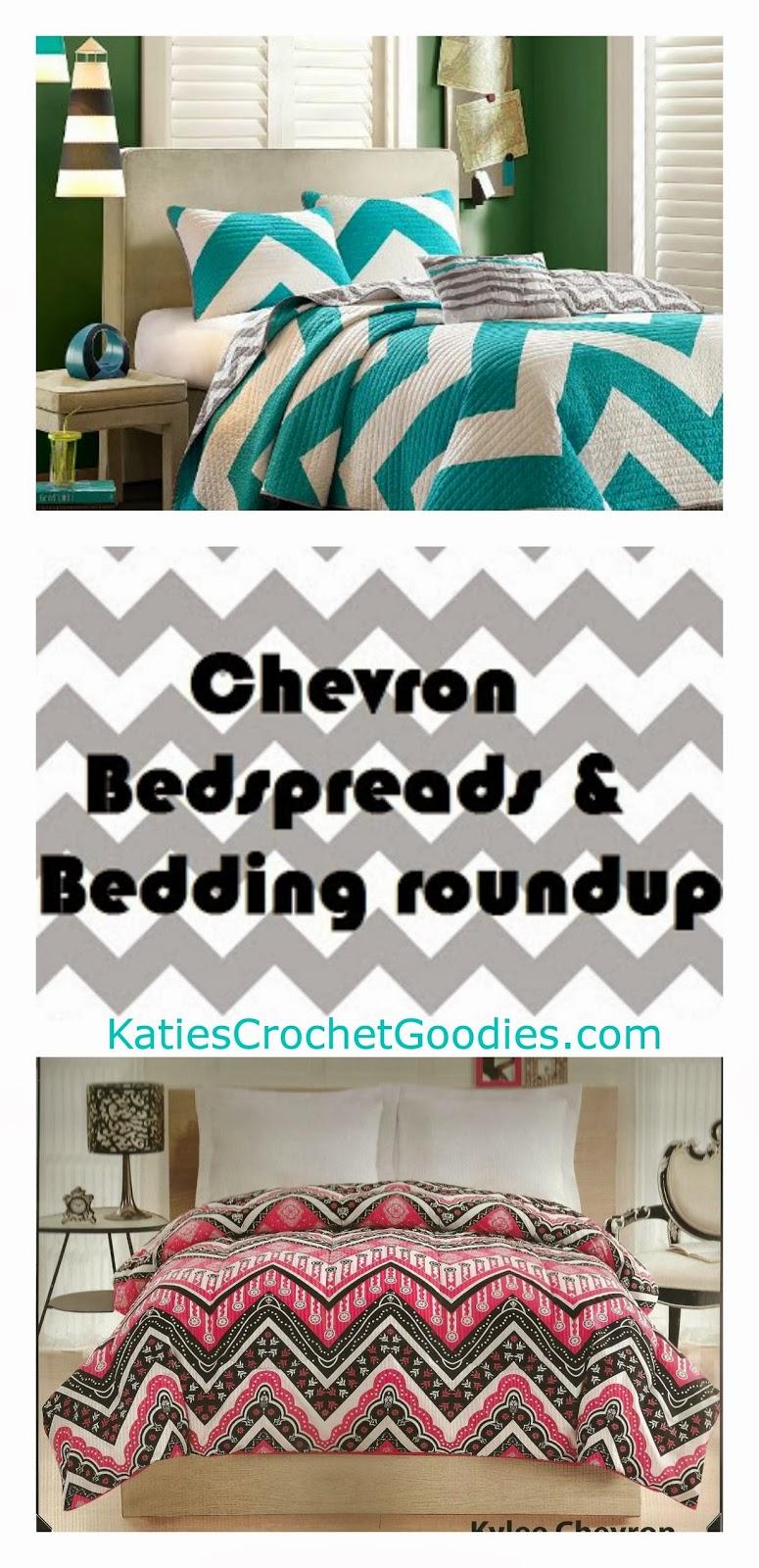 chevron bedspreads