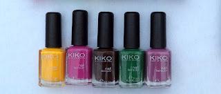 esmaltes de kiko milano