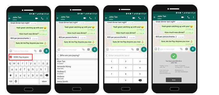 OCBC BANK LAUNCHES MOBILE KEYBOARD TO ENABLE