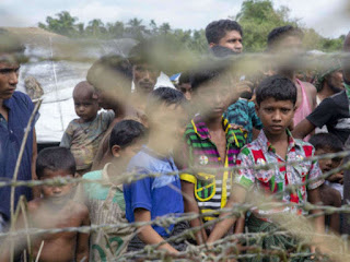 Police said about 150 Myanmar nationals, including 38 Buddhist families, crossed the border.
