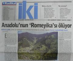 «Η μητρική μας γλώσσα δεν ήταν τουρκική. Τα Ποντιακά είχαμε ως μητρική. Ρωμαίικα την ονομάζαμε εμείς».