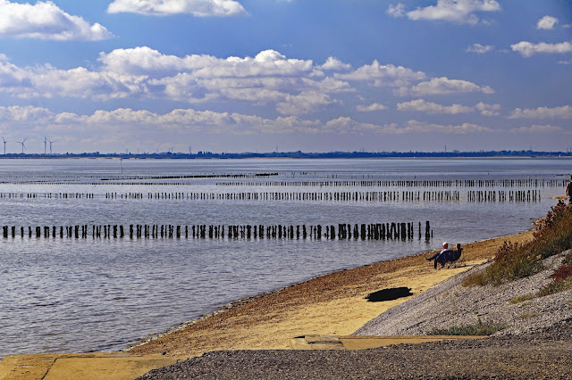 Buy Photo Art of East Mersea Beach