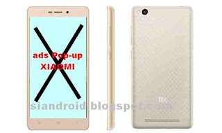 Cara Hilangkan iklan di Xiaomi Redmi 3 yang selalu muncul