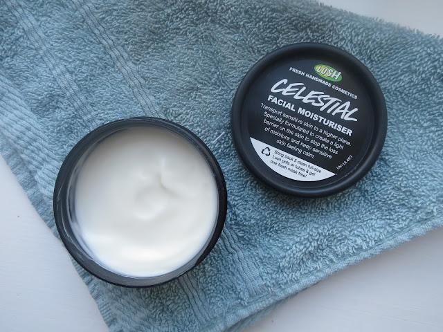 LUSH skincare moisturiser celestial sweet allure