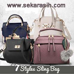 BEST SELLER SLING BAG TAS WANITA IMPORT