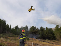 požar Podkaštilje Bol slike otok Brač Online