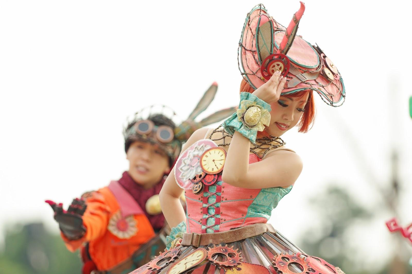 ファッショナブルイースター ダンサー