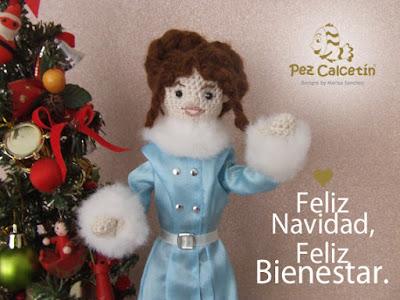 """navidad"" ""crochet"" ""pez calcetin"" ""hygge"" ""bienestar"" ""wellbeing"""