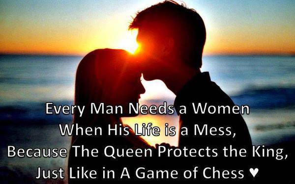 Every Woman Needs A Man Quotes: Every Man Needs A WOMEN' When ....♥ ♥ ♥ ♥ ♥