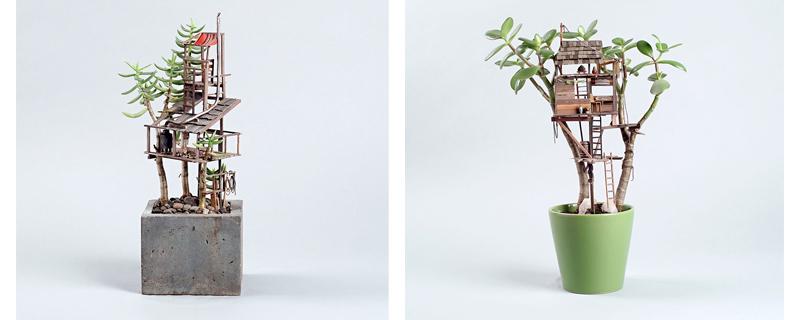 Tu propia casa del árbol en miniatura