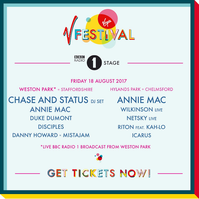 V FESTIVAL ANNOUNCES HUGE BBC RADIO 1 STAGE