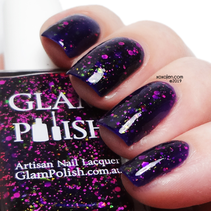 xoxoJen's swatch of Glam Polish Scary Stories To Tell In The Dark