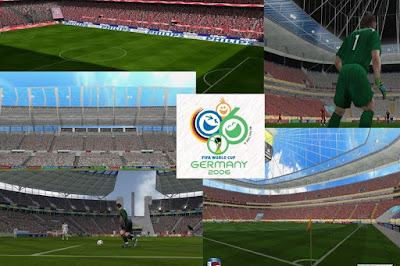PES 6 HD Stadium World Cup Germany 2006 Updated 2018