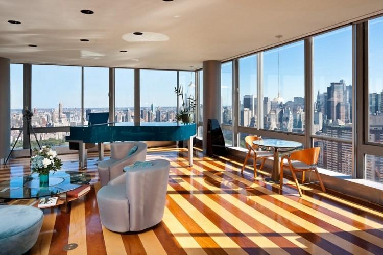 new york city luxury manhattan penthouses the gartner penthouse for sale in new york city. Black Bedroom Furniture Sets. Home Design Ideas