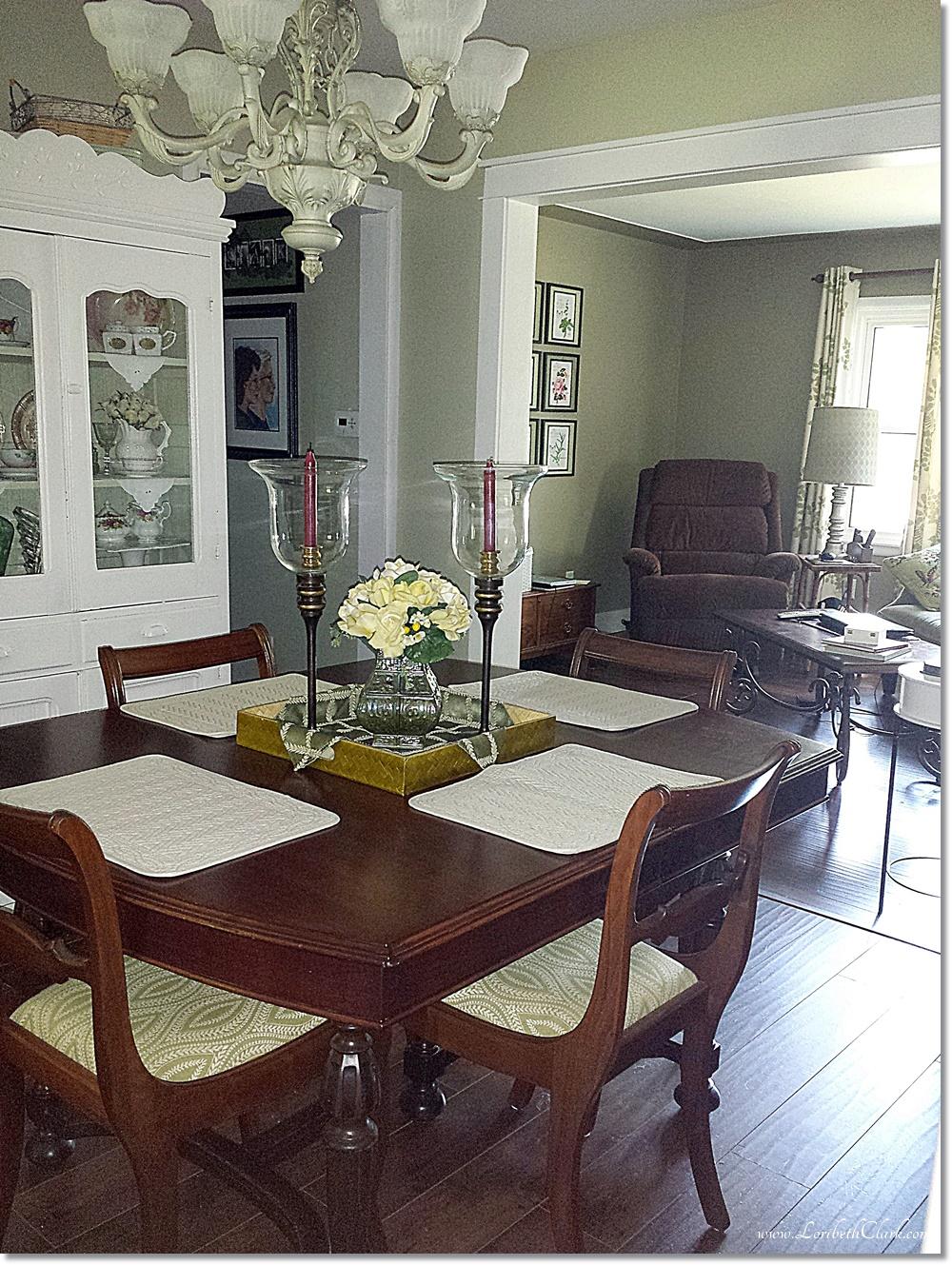 My Haunted Dining Room Table Loribeth Clark
