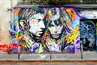 Sunday Street Art : Jo Di Bona - rue de Verneuil - Paris 7