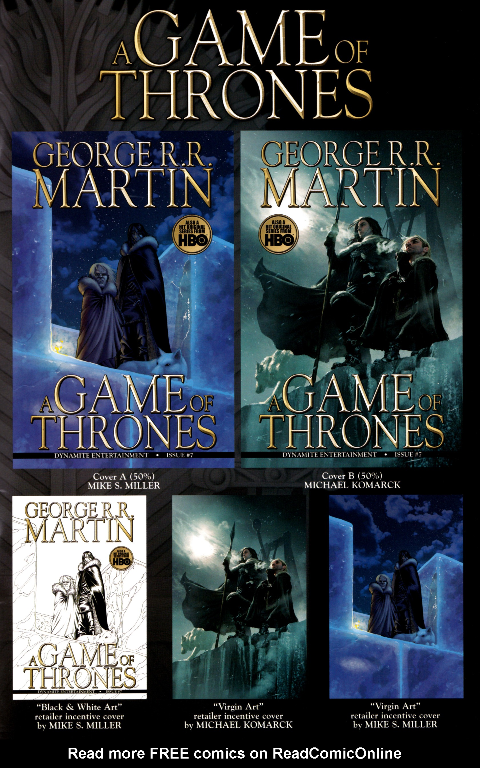 Read online A Game Of Thrones comic -  Issue #7 - 34