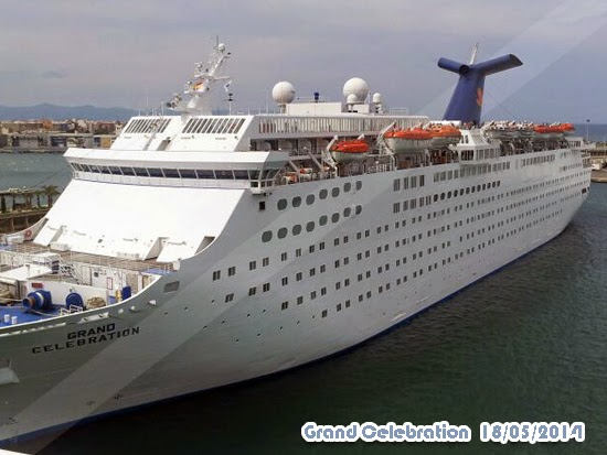 COSTA CRUCEROS - Grand Celebration - Nuevo aspecto